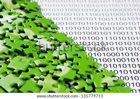 puzzles on a binary code