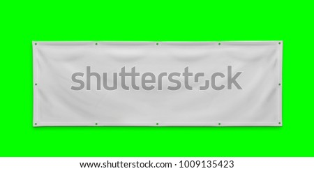 PVC advertising banner with eyelets #1009135423