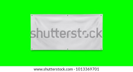 PVC advertising banner with eyelets #1013369701