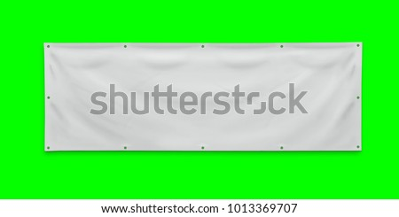 PVC advertising banner with eyelets #1013369707
