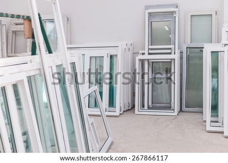 PVC windows and doors manufacturing, window frame profile, production equipment