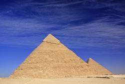 Pyramid of Khafre, Cairo, Egypt
