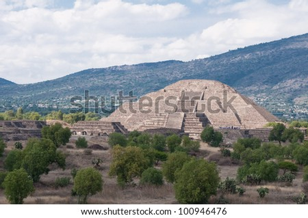 Pyramid of the Moon, Teotihuacan (Mexico)