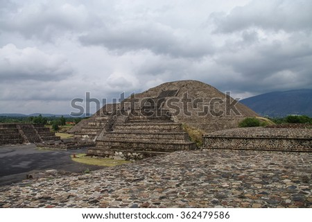 Pyramid of the Moon. Teotihuacan, Mexico #362479586