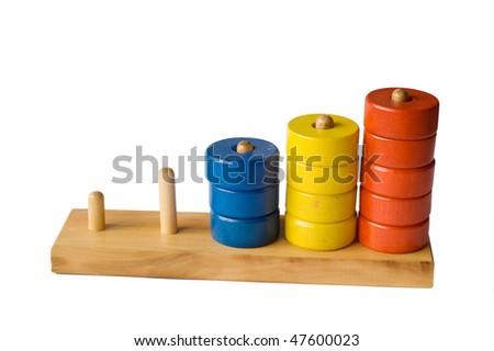 pyramidion, rings, toys
