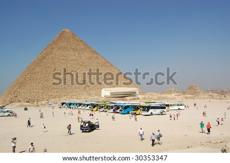 Pyramids and The solar ship