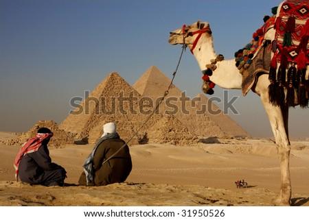 pyramids bedouins