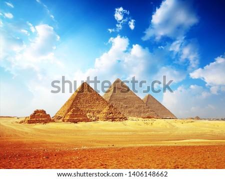 Pyramids in Cairo  Pharaonic civilization