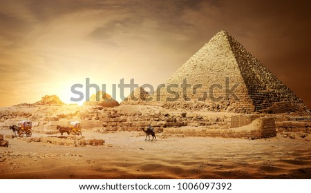 Pyramids of Egypt #1006097392