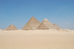 Pyramids of Giza - Cairo - Egypt