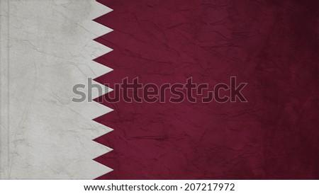 qatar Flag Crepe Paper texture