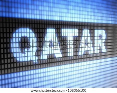 Qatar.  Full collection of icons like that is in my portfolio