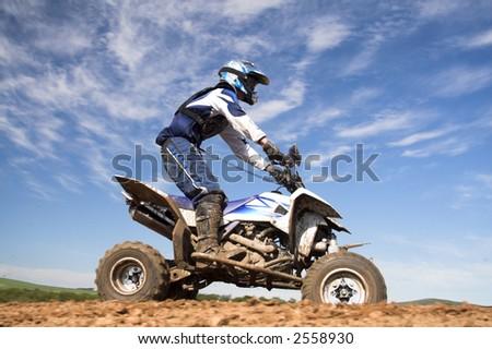 quad Bike - stock photo