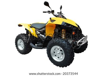 quadbike atv isolated Stock photo ©