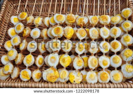 Quail eggs are a very nutritious food. #1222098178