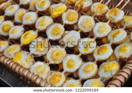 Quail eggs are a very nutritious food. #1222098184