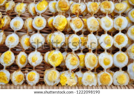 Quail eggs are a very nutritious food. #1222098190