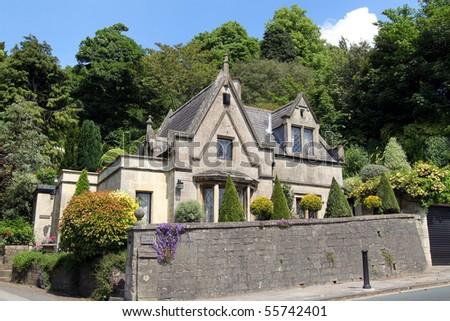 Quaint, Charming English Cottage, Bath, England Stock ... Quaint English Cottages