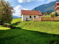 Quaint house in the Bavarian countryside.