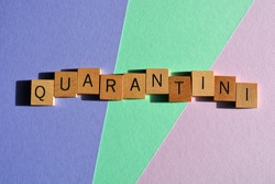 Quarantini, buzzword  for a DIY cocktail mixed at home during coronavirus pandemic lockdown restrictions