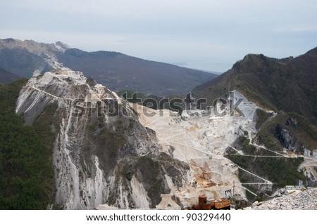 quarry marble Carrara
