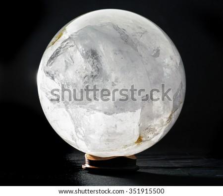 Quartz Sphere mineral spherical #351915500