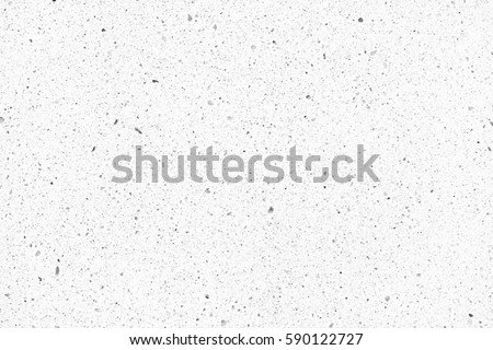Quartz surface white for bathroom or kitchen countertop. High resolution texture and pattern. #590122727