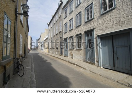 Quebec City Alley