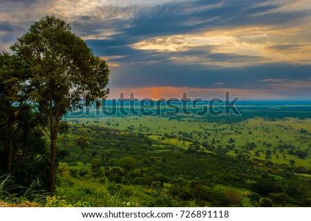 Queen Elizabeth National park view