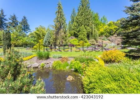 Queen Elizabeth park, Vancouver, Canada.