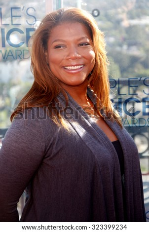 Queen Latifah at the People\'s Choice Awards Press Conference held at the London Hotel in West Hollywood, USA on November 9, 2010.