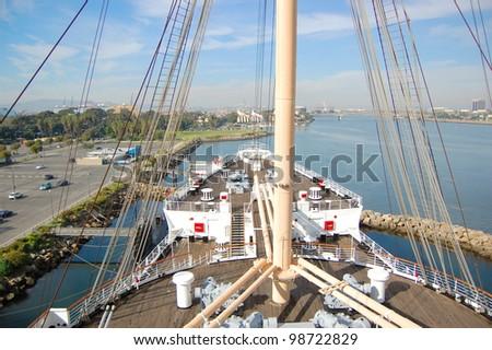 Queen Mary in Long Beach, California, USA