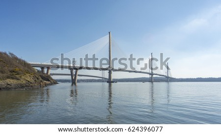 Queensferry Crossing, Scotland #624396077