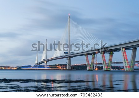 Queensferry Crossing, Scotland #705432433