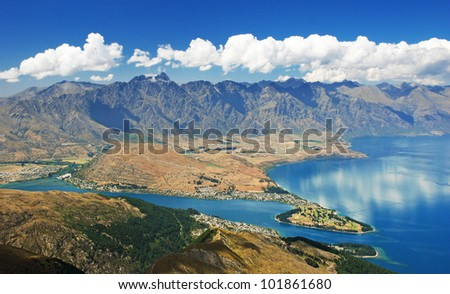 Queenstown and the Remarkables, New Zealand