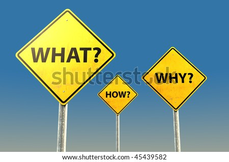 Question Ask Road Sign