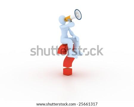 question concept - stock photo