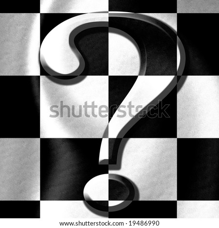 Black And White Question Mark Background Question Mark on a Black And