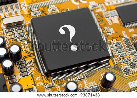 Question on computer chip - business concept