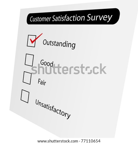Questionnaire about the level of satisfaction