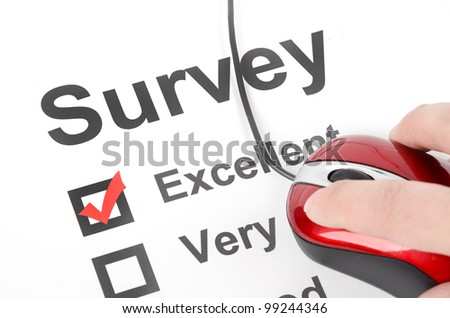 Questionnaire and mouse