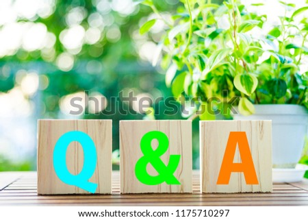 Questions and Answers #1175710297