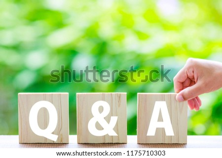 Questions and Answers #1175710303