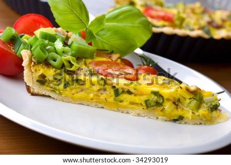Quiche - vegetable beauty