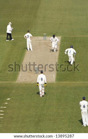 Quick between the wickets