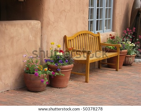 Quiet Bench, Santa Fe, NM