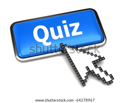 Quiz button and arrow cursor