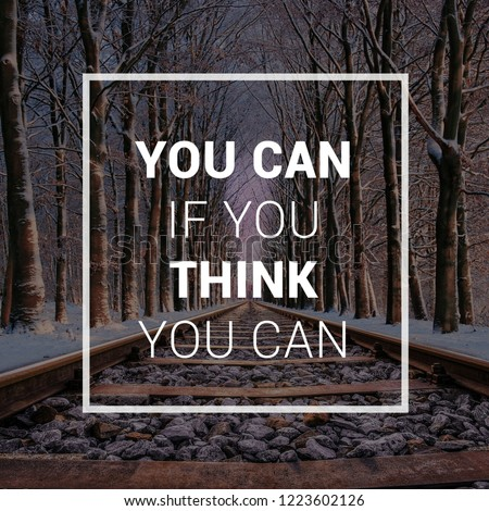 quotes. motivational and inspirational quote and sayings on winter season background for life, success, uplifting, empowering, goal and education
