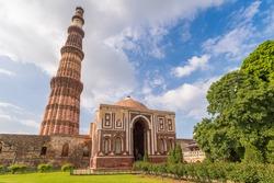 Qutub Minar Tower in New Delhi, India
