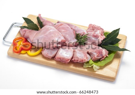 Rabbit meat
